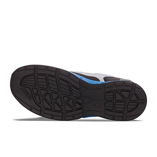Diadora D-Flex Low S1p Src, Calzado de Protección para Hombre Grigio / Blu Nautico