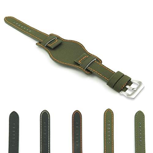 (DASSARI Trooper Kevlar Nylon Bund Watch Band)