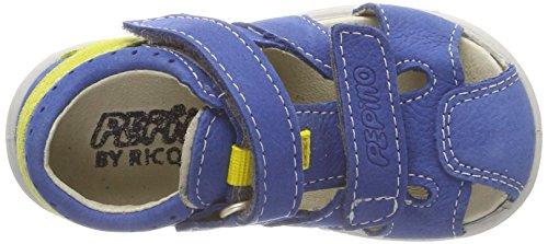 Ricosta Unisex-Kinder Kaspi Geschlossene Sandalen Blau (Azur)
