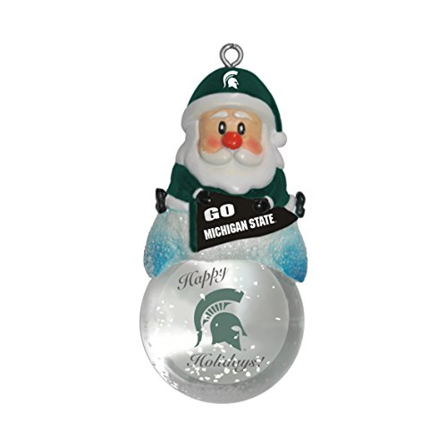NCAA Michigan State Spartans Snow Globe
