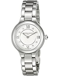 Womens FC200WHD1ER36B Delight Analog Display Swiss Quartz Silver Watch