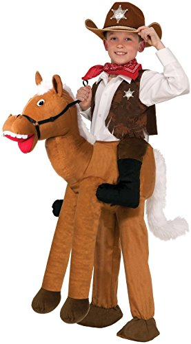 Kid Horse Costumes (Forum Novelties Ride-A-Horse Costume, One Size)
