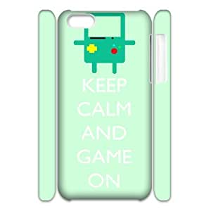 Cool Painting Beemo Adventure Time Customized 3D Cover Case for Iphone 5C,custom phone case case589489