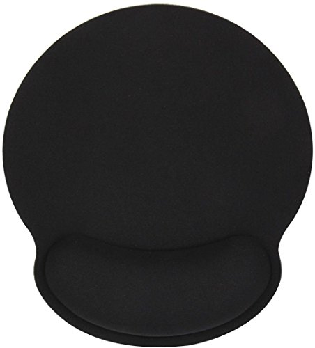 Memory Foam Mouse Pad with Wrist Rest Support - Ergonomic Mousepad Non-Slip Rubber Base Soft Cushion Comfortable Surface for Gaming Laptop Desktop Computers Wireless/Cable Mouses (1 Piece, - Desk Lap Personalized