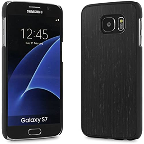 Cover-Up #WoodBack Real Wood Snap Case for Samsung Galaxy S7 - Blackened Ash Sales
