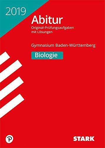 Abiturprüfung BaWü - Biologie Taschenbuch – 14. August 2018 Stark Verlag 3849035611 Lernhilfen / Abiturwissen Baden-Württemberg