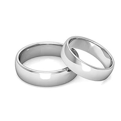 Misterbling Verlobungsring Ring Edelstahl 6 Mm Ehe Grosse 9 18 9