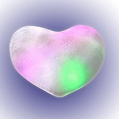 Cojín Mola Mogollon con luces (Corazón)