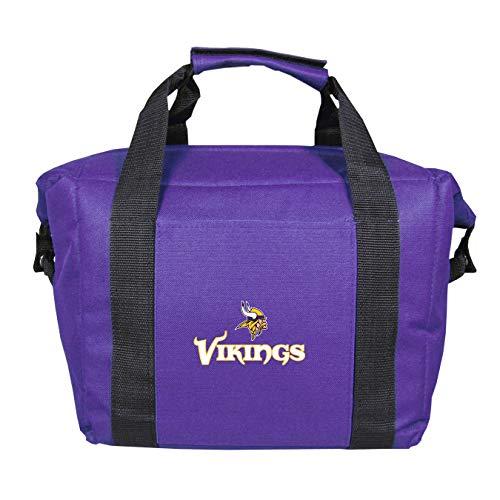 NFL Minnesota Vikings Soft Sided 12-Pack Cooler Bag