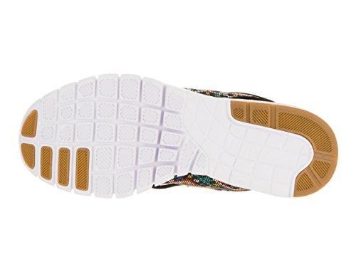 Nike Herren Stefan Janoski Max PRM Skate Schuh Schwarz / Schwarz Weiß Gm Lght Brwn 10,5 D (M) US