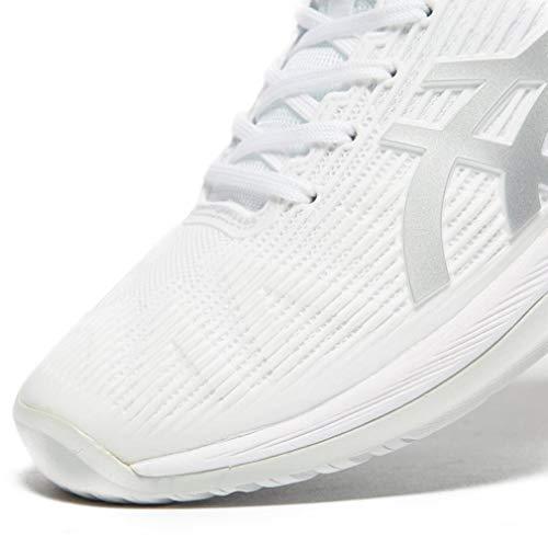 Blanc Gel Asics argent Chaussures resolution Tennis 7 Homme De 0TP01n