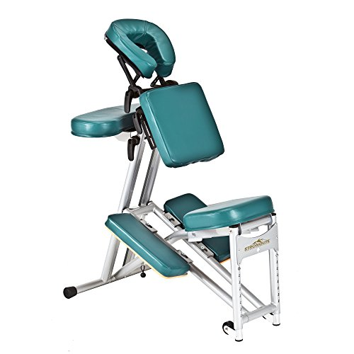 Stronglite Ergo Pro II Portable Massage Chair Package, Teal by StrongLite