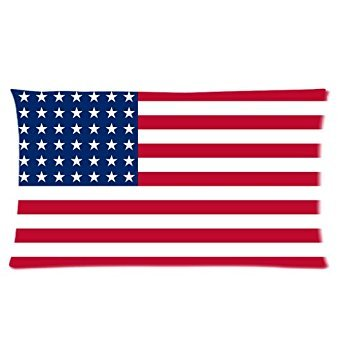 Custom American Flag Pattern Zippered Pillowcases Pillow cov