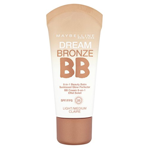 Maybelline Dream Bronze BB Cream 01 Light/Medium 5g by Maybe