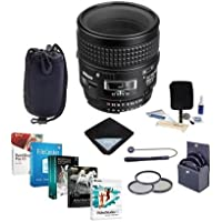 Nikon 60mm f/2.8D AF NIKKOR Lens Kit - USA - Accessory Bundle w/62mm Filters & Pro Software