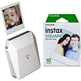 Fujifilm Instax SP-3 Mobile Printer and Instax Square Instant Film