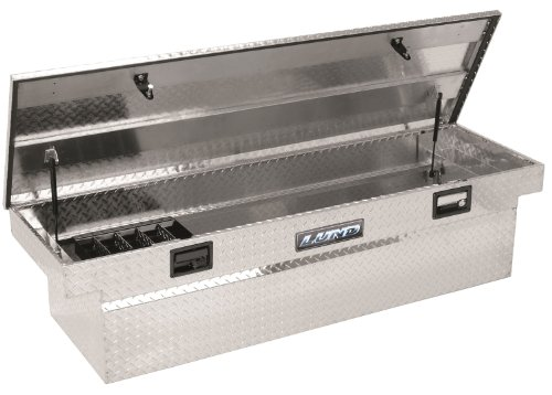 Lund/Tradesman 9304 63-Inch Mid-Size Aluminum Cross Bed Truck Tool Box with Low Profile, Diamond Plated (Mid Size Truck Box compare prices)