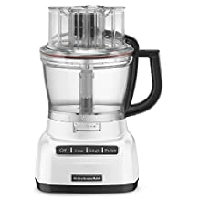 KitchenAid KFP1333WH 13-Cup Food Processor, White