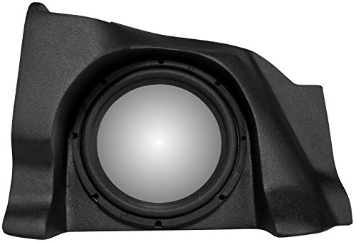 UNLOADED MTX Sub Enclosure for Chevy Silverado / GMC Sierra / 1500-2500 Extra Cab holds 1 -10
