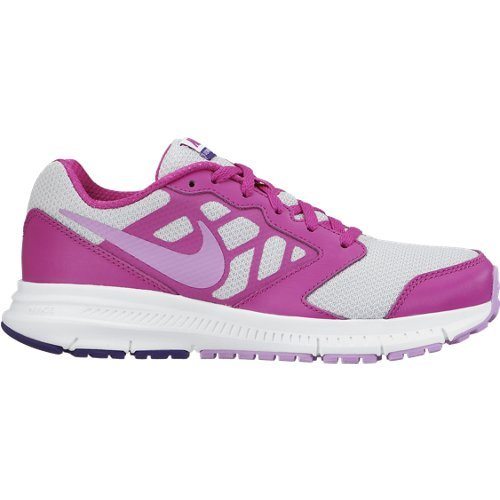 Nike Downshifter 6 (GS/PS) Scarpe Sportive, Ragazza Multicolore (Gris / Rosa)