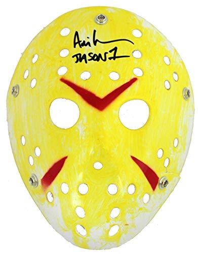 Yellow Signed - Ari Lehman Friday The 13th