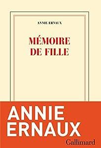 vignette de 'Mémoire de fille (Annie Ernaux)'
