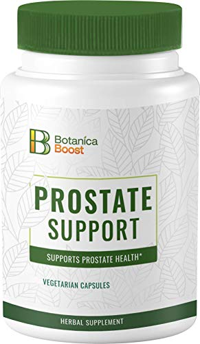 Botanica Boost Prostate Supplement for Men - 1300mg Herbal Prostate Health Formula with Root Bark and Seed Extracts Supports Urine Flow Already in The Normal Range (15)