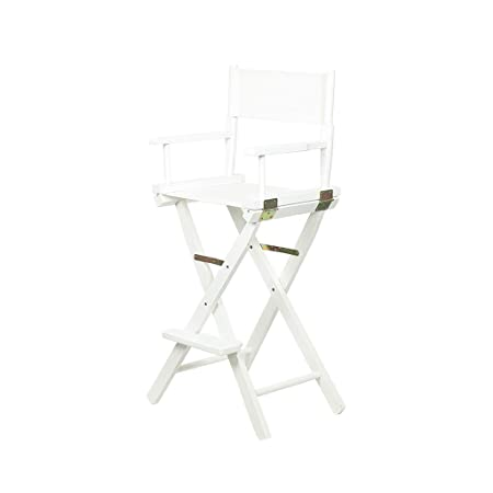 Miraculous Mmli Chairs White Solid Wood High Chair Portable Folding Home Interior And Landscaping Ferensignezvosmurscom