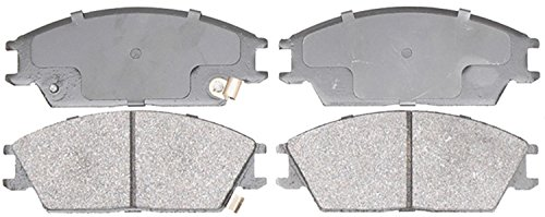 Hyundai Accent Brake Pads (ACDelco 14D440M Advantage Semi-Metallic Front Disc Brake Pad Set with Wear Sensor)