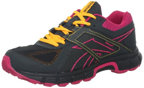 Reebok Damessneaker Finish Rs Tr Hardloopschoen Black / Grind / Candy Pink / Neon Orange