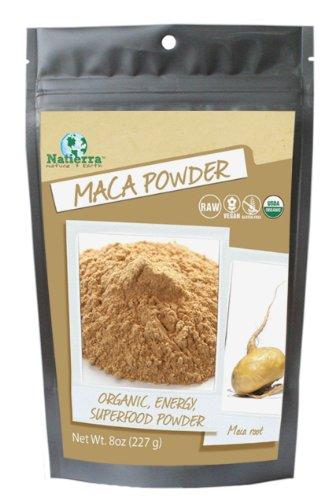Natierra organique Maca en poudre, 8-once