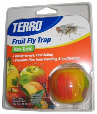 (Terro Fruit Fly Trap Display)