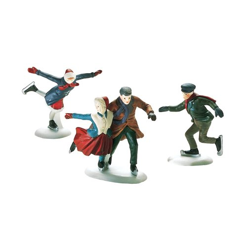 Department 56 Skating Party Set of 3