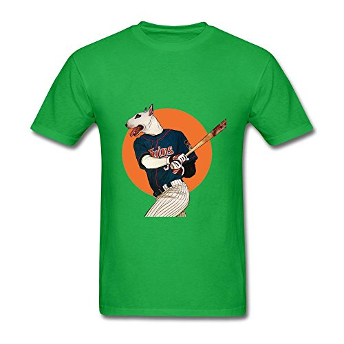 Tangry Men's Animal anthropomorphic Design Cotton Short Sleeve T Shirt