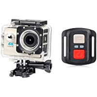 Boyiya New Full HD 1080P WIFI H16R Action Sports Camera Camcorder Waterproof, Cellphone APP Can Control Equipment Video Camera (Beige)