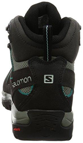 Salomon Ellipse 2 Mid Ltr Gtx W, Botas para Mujer Varios colores (Phantom/Castor Gray/Aruba Blue)