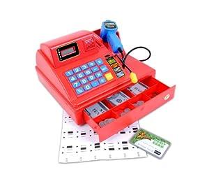 Summit Junior Talking Cash Register - Red by Summit