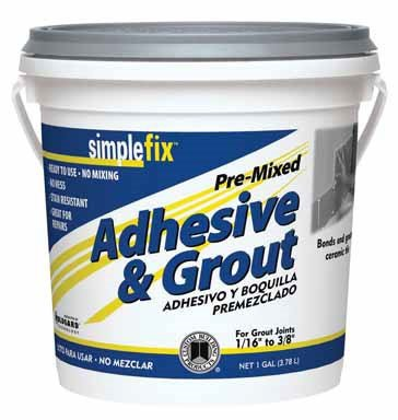 Custom BLDG Products TAGW1-2 Premixed Adhesive/Grout ()