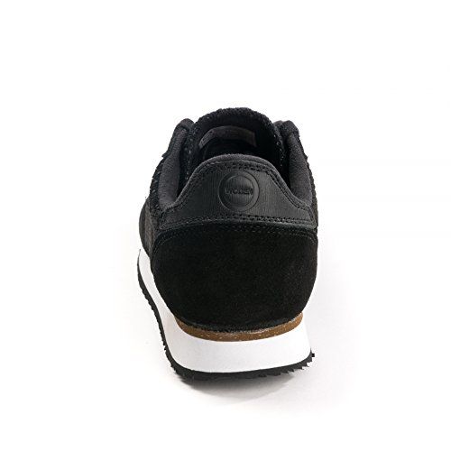 Woden Ydun II Weaved Womens Sneakers 017 Black suede