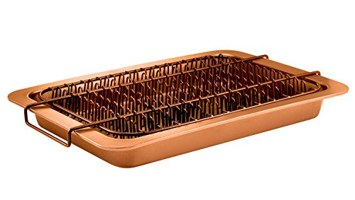 Bacon Bonanza by Gotham Steel Oven Healthier Bacon Drip Rack Tray with Pan – As Seen on TV by GOTHAM STEEL (Image #3)