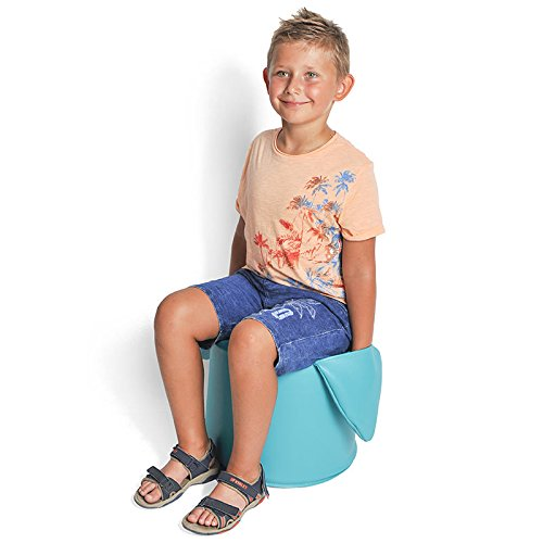 """Fun and Function SensaSoft Pocket Seat, Age 5+ – Tuck Fidgety Hands Inside Attached Pockets, 13.8"""" Diameter & 11.8"""" Tall"""