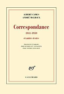Correspondance 1941-1959 et autres textes, Camus, Albert