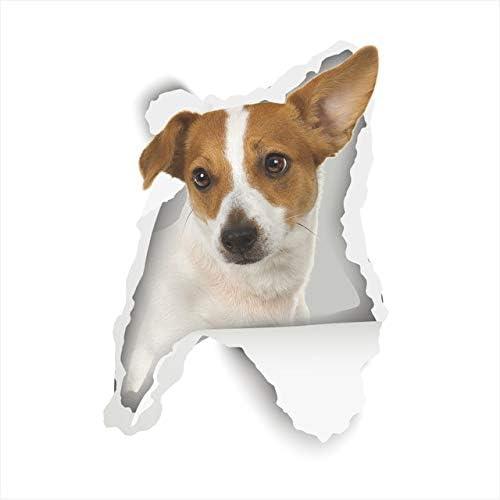 Perro de dibujos animados gatito 3D pegatinas de pared ...