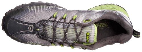Hi Tec V-Lite Infinity Hpi HTO001115, Herren Sportschuhe - Outdoor Grau (Dunkelgrau/Infinity Green/Silber)