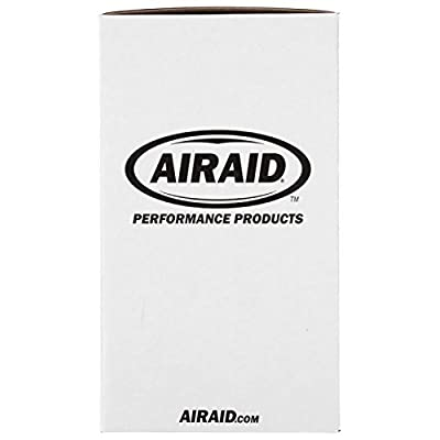 Airaid 700-420RD Racing Air Filter: Round Tapered; 3.5 in (89 mm) Flange ID; 9 in (229 mm) Height; 6 in (152 mm) Base; 4.625 in (117 mm) Top: Automotive
