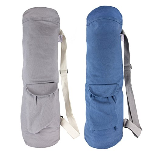 Limber Stretch Cotton Canvas Large Yoga Mat Bag