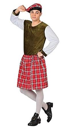 Atosa Disfraz de Escoces Verde - Hombre, L: Amazon.es: Ropa ...