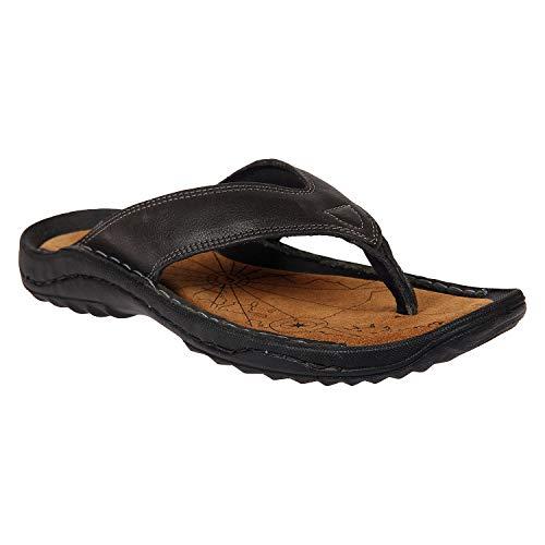 Franco Leone Black Men's Slippers (B07S7RLDG1) Amazon Price History, Amazon Price Tracker