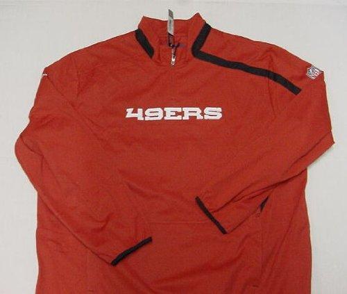 (San Francisco 49ers Red 2009 Sideline Throttle Hot Jacket - XX-Large)