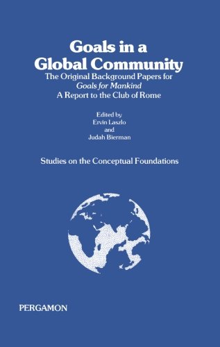 Studies on the Conceptual Foundations: The Original Background Papers for Goals for Mankind pdf epub